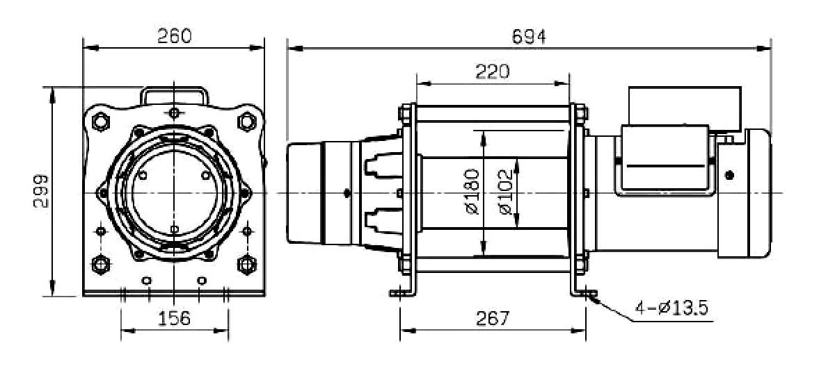 Schmitz & Heisler GmbH: Elektrische Hubwinden<br>230 / 380 Volt